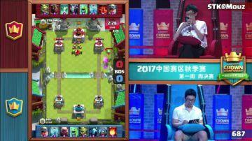 [CCGS中国区秋季赛]第一周周决赛 687 VS Mouz