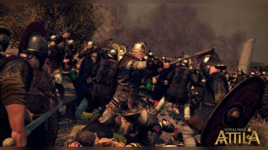 全面战争阿提拉 野战打步兵基本通用战法