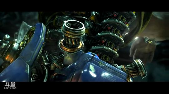 《星际争霸II自由之翼》开场动画