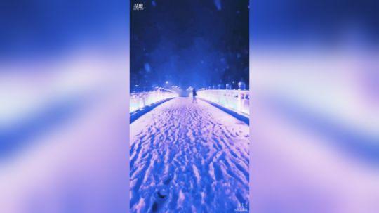 第一场雪 美翻了