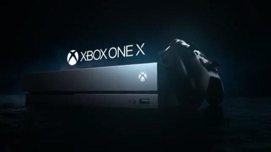 微软Xbox One X——感受真实的力量!