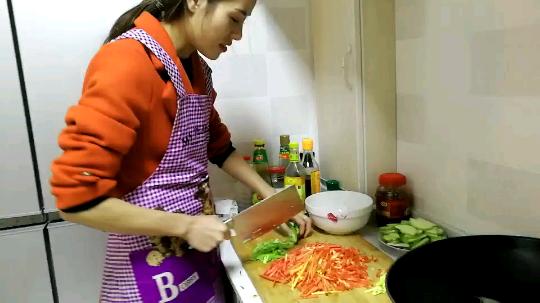 小美女下厨第一课