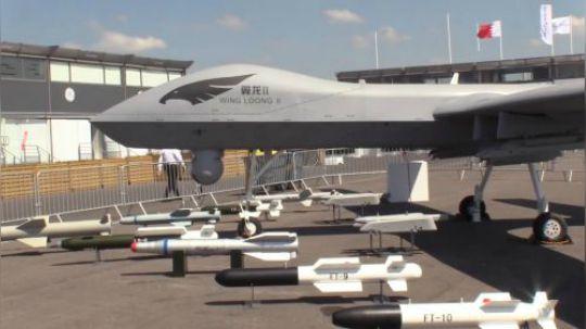国产翼龙2察打一体无人机可挂弹12枚,中低空作战能力世界瞩目