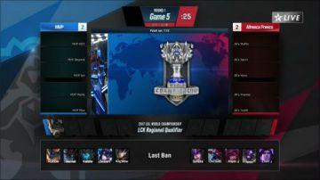 2017LCK冒泡赛AFS vs MVP 08.28日 05