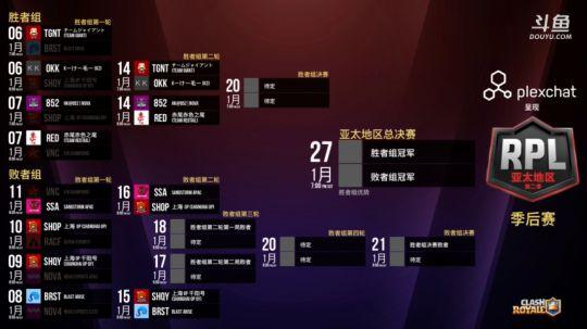 RPL季后赛胜者组第二轮-赤尾vs852强势翻盘