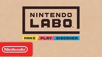 """任天堂正式公布""""Labo"""",Switch主机原来还能这样玩!"""