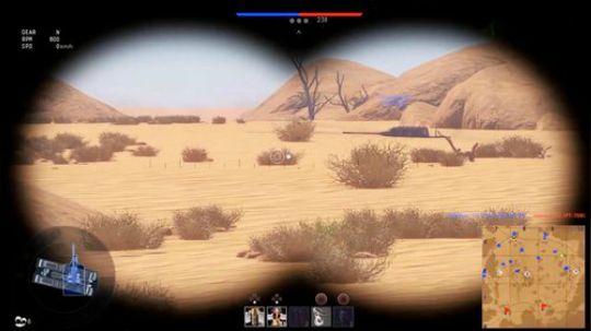 等……等一下,这辆坦克在?干嘛?