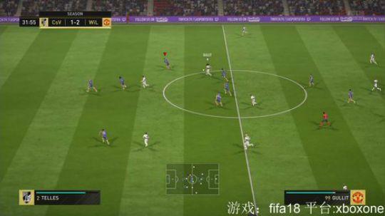2018.2.22 fifa18 与40胜威尔逊大神切磋2