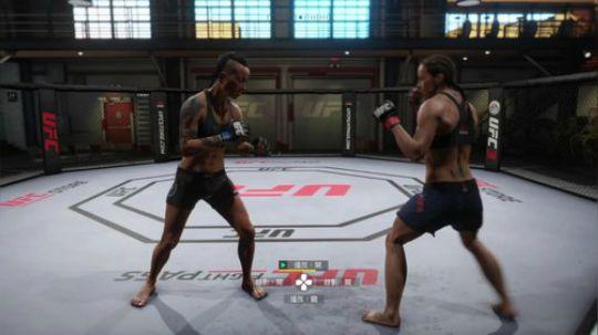 (安徽省芜湖市代表队)EA SPORTS™ UFC3训练3