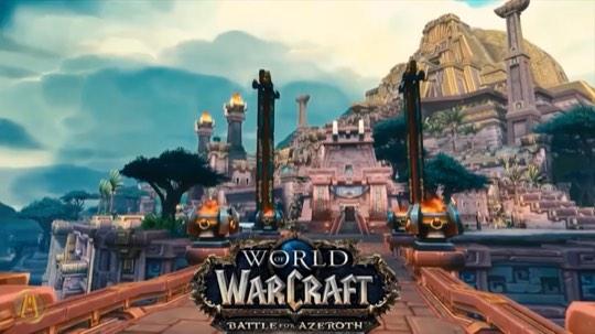 魔兽世界8.0音乐