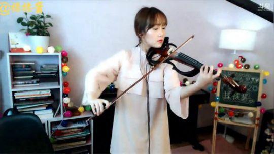【揉揉酱】《Counting Stars》小提琴版 .