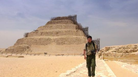诡异的金字塔内部探秘|非洲埃及