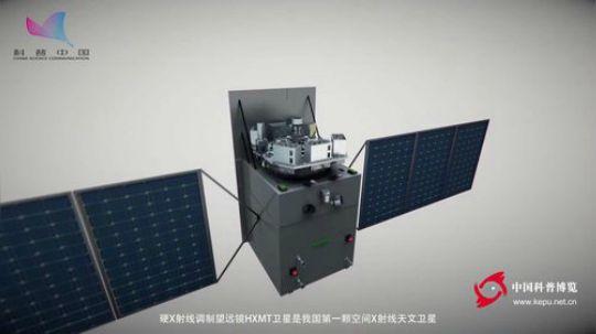 硬X射线调制望远镜HXMT卫星