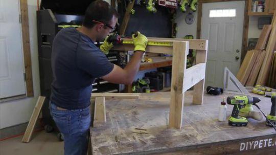 【木匠木工】如何制作一个户外椅子.