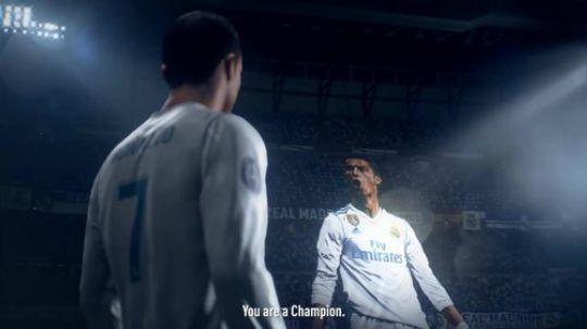 FIFA19宣传片 C罗全程旁白 加入欧冠版权!