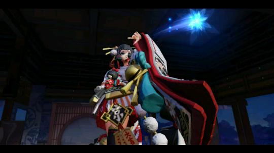 决战!平安京  雪女与雪莲花
