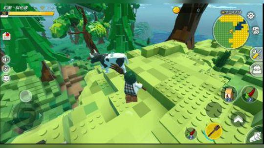 新游试玩第四期:《CUBE》腾讯推出的一款乐高沙盒游戏,