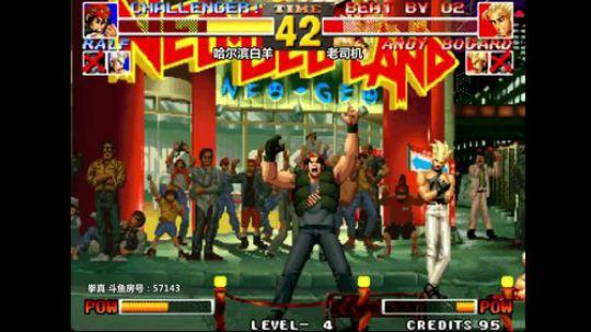 拳皇95 这拉尔夫祖籍应该是焦作!