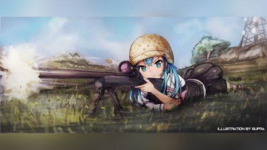 狙击枪98k正反手的狙击枪身法规避讲解★如何完美使