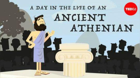 古代雅典人的一天